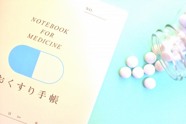 おくすり手帳と薬